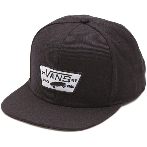 Vans Boy's Hat - Full Patch - True Black