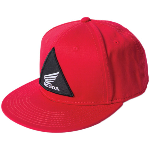 Factory Effex Kid's Hat - Honda Tri - Red