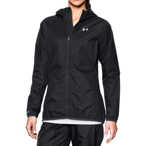 Under Armour Women's Jacket - Anemo - Black/Glacier Grey