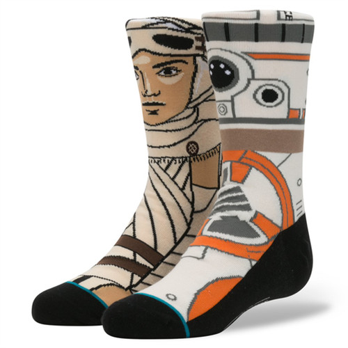 Stance Boy's Socks - The Resistance Kids - Tan