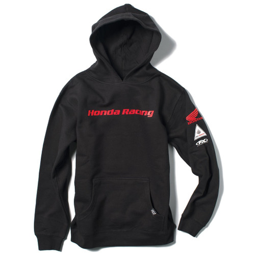 Factory Effex Kid's Hoody - Honda Racing - Black