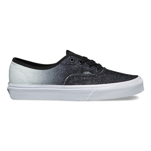 Vans Women's Shoes - Authentic - 2 Tone Glitter Sv/Bk