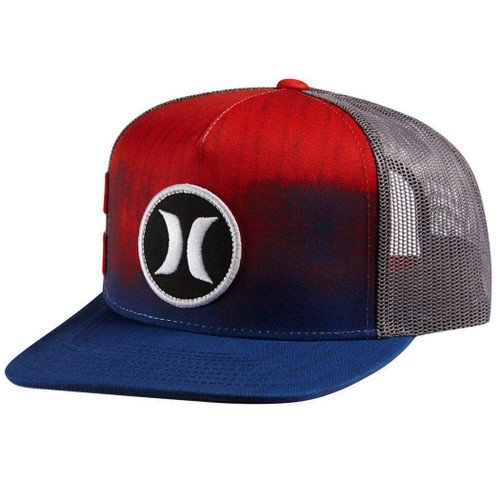 Hurley Hat - Block Party Hyper Flow - Bright Crimson