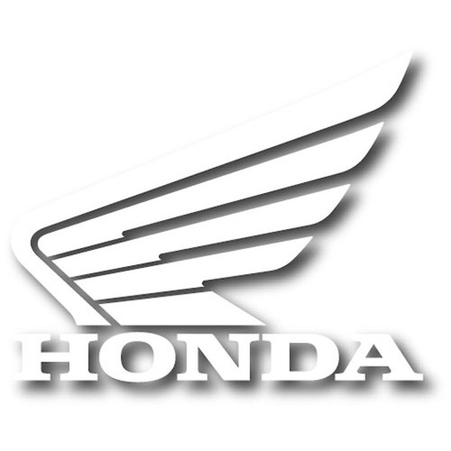 Factory Effex Decals - Honda Wing - White