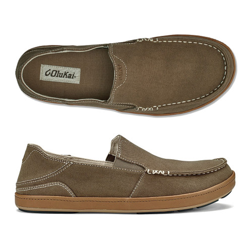 Olukai Shoes - Puhalu Canvas - Mustang/Tan