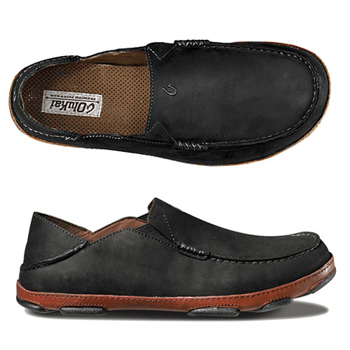 Olukai Shoes - Moloa Loafer - Black/Toffee