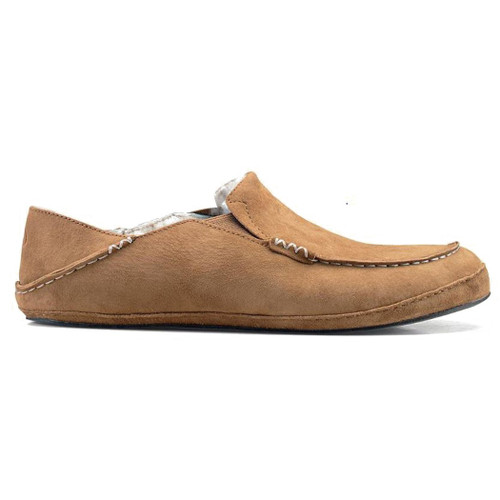 Olukai Shoes - Moloa Slipper - Tobacco/Tobacco