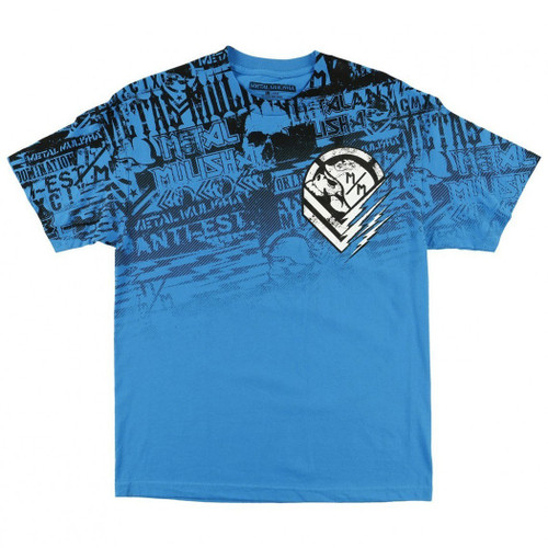 Metal Mulisha Kid's Tee Shirt - Electric - Turquoise (FA6618000-TUR)