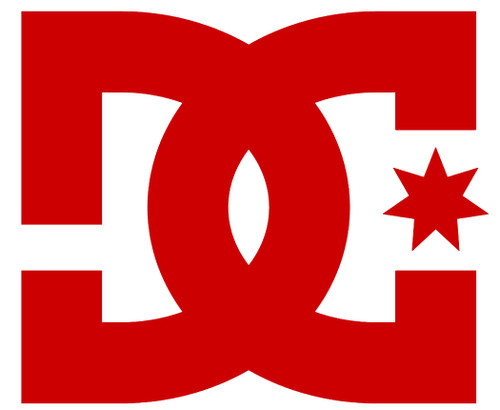 DC Decals - Star T7 Inch - Red
