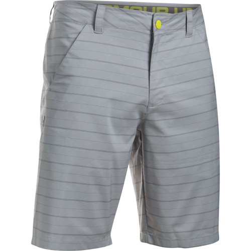 Under Armour Shorts - Turf & Tide - Overcast Gray/ Smash Yw