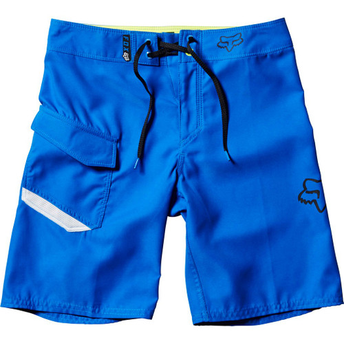 Fox Kid's Boardshort - Overhead - True Blue