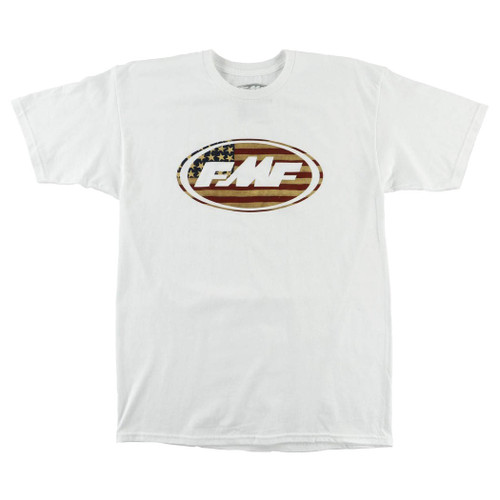 FMF Tee Shirts - America The Great - White