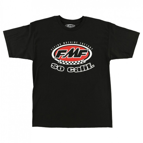FMF Tee Shirts - Retro - Black