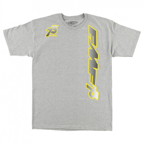 FMF Tee Shirts - Stripes 73 - Heather Grey