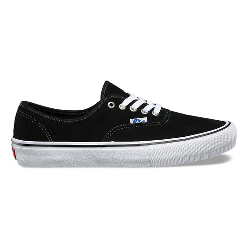 Vans Shoes - Authentic Pro - Suede Black