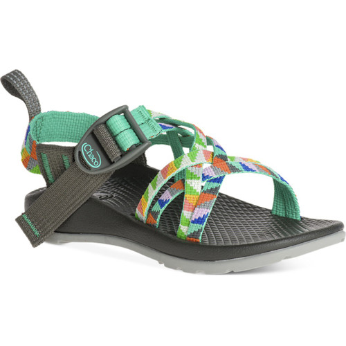 Chacos Kid's Sandals - ZX/1 Ecotread - Camper Turquoise