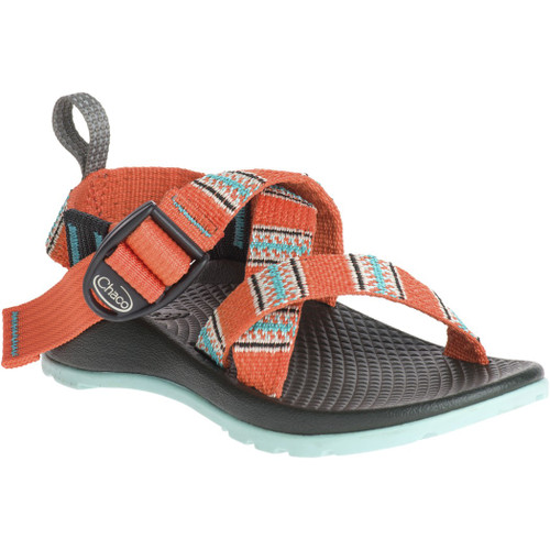 Chacos Kid's Sandals - Z/1 Ecotread - Banded Coral