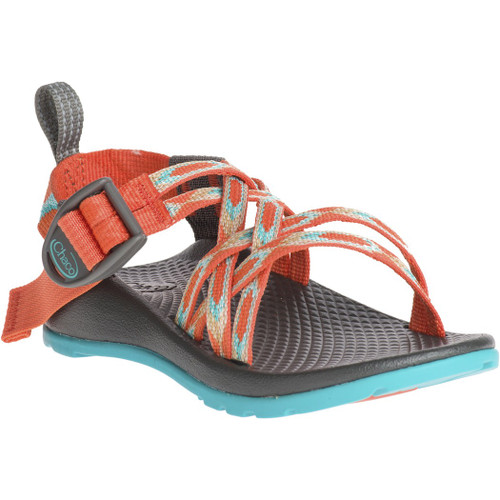 Chacos Kid's Sandals - ZX/1 Ecotread - Zigzag Coral