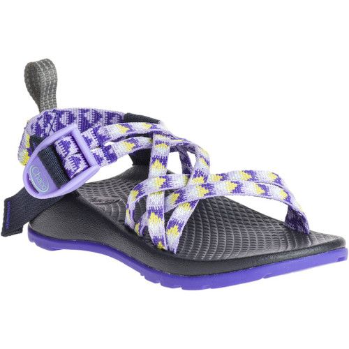 Chacos Kid's Sandals - ZX/1 Ecotread - Pyramid Orchid