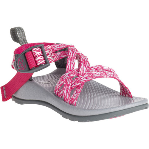Chacos Kid's Sandals - ZX/1 Ecotread - Rend Pink