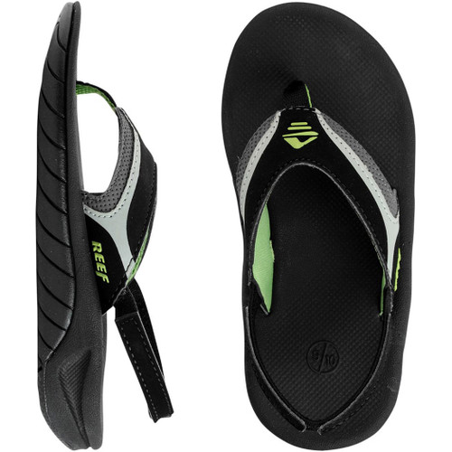 Reef Kid's Flip Flop - Slap II - Black