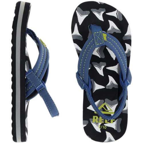 Reef Kid's Flip Flop - Ahi - Shark Tooth