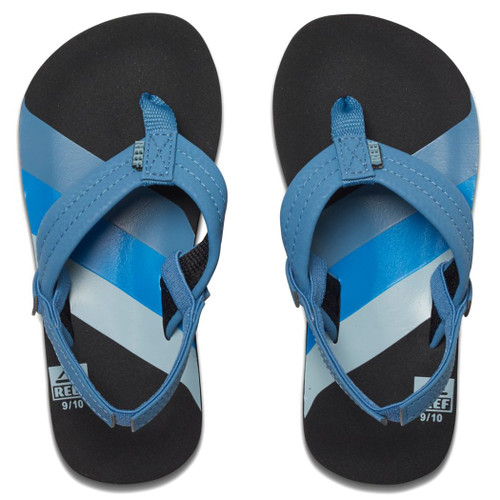Reef Kid's Flip Flop - Ahi - 70S Blue