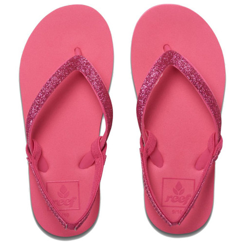 Reef Girl's Flip Flop - Little Stargazer - Hot Pink