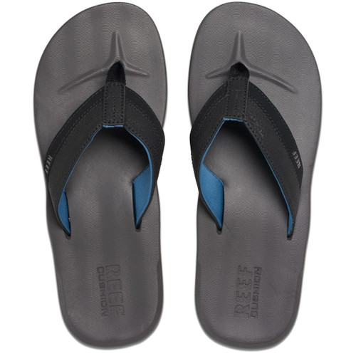 Reef Flip Flop - Contoured Cushion - Grey/Blue