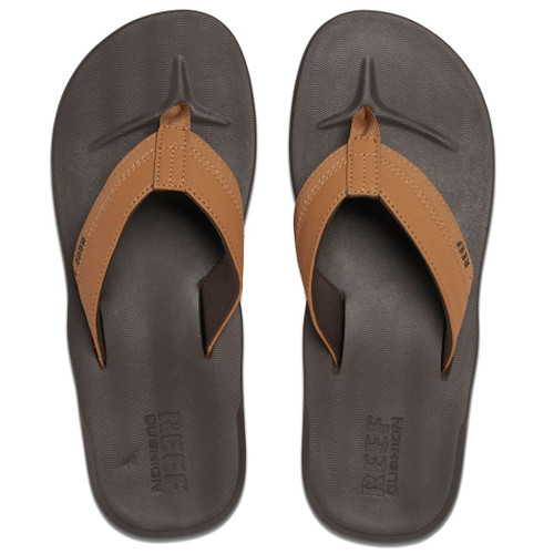 Reef Flip Flop - Contoured Cushion - Brown