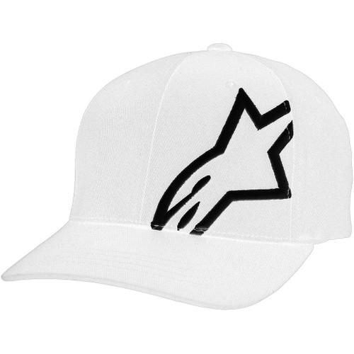 Alpinestars Hat - Corp Shift 2 - White/Black