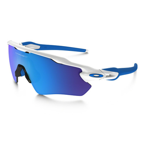 Oakley Sunglasses - Radar EV XS - Polished White/Sapphire