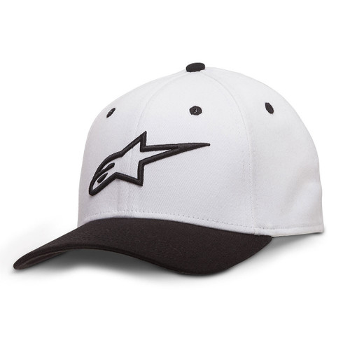 Alpinestars Hat - Ageless Curve - White/Black