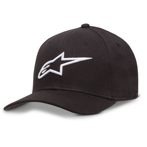 Alpinestars Hat - Ageless Curve - Black/White
