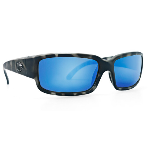 Costa Sunglasses - Caballito OCEARCH - Tiger Shark/Blue Mirror Glass