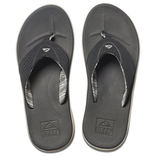 Reef Flip Flop - Rover Prints - Black/Stripes