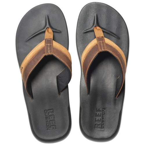 Reef Flip Flop - Contour Cushion LE - Black/Brown