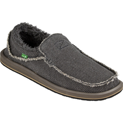 Sanuk Shoes - Chiba Chill - Black Fuzz