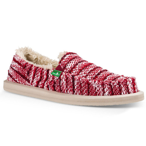 Sanuk Women's Shoes - Donna Chill - Rumba Red