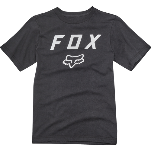 Fox Boy's Tee Shirt - Legacy Moth - Black