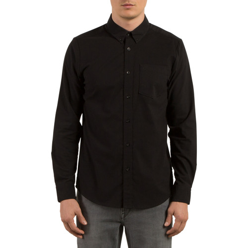 Volcom Shirt - Oxford Stretch LS - Black