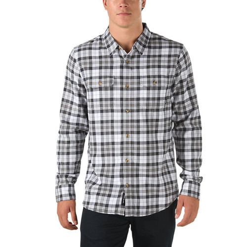 Vans Shirt - Sycamore - White/New Charcoal