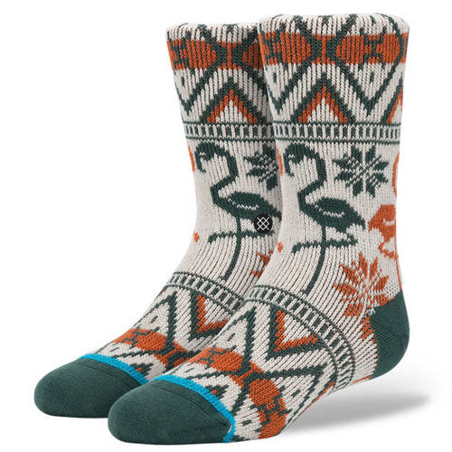 Stance Boy's Socks - Chancellor - Red
