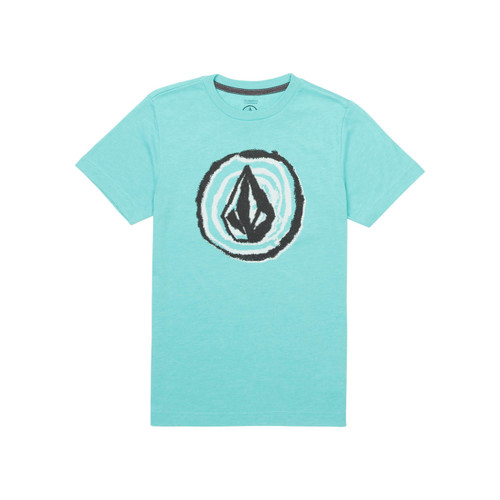 Volcom Boy's Tee Shirt - In Fill - Turquoise