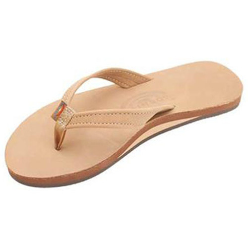 Rainbow Women's Flip Flop - Catalina Single Layer - Sierra Brown