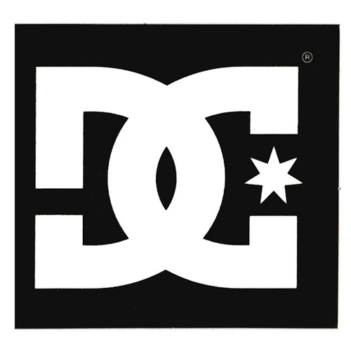 DC Decals - Star Sticker 2.75 - Black
