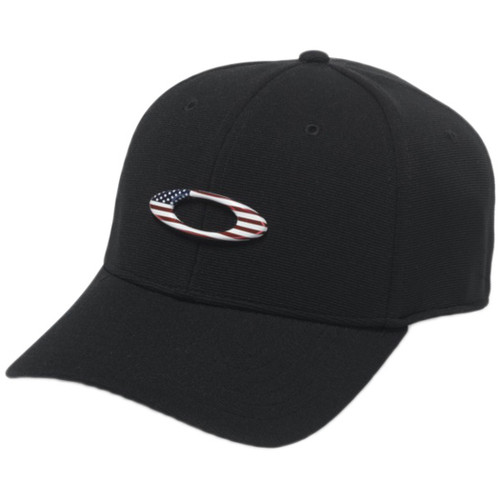 Oakley Hat - Tincan - Black/American Flag