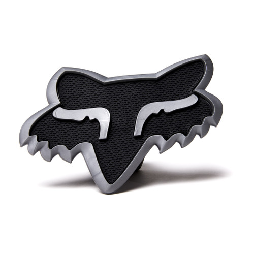 Fox - Trailer Hitch Cover - Black/Charcoal