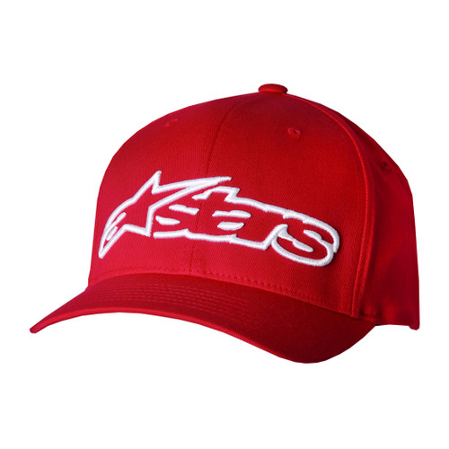 Alpinestars Hat - Blaze - Red/White