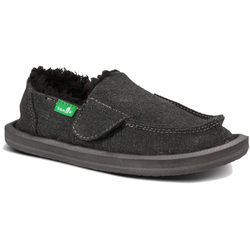 Sanuk Kid's Shoes - Vagabond Chill Toddler's - Charcoal